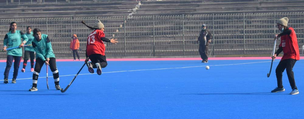 Lahore Division Hockey (Women) Tournament, Lahore Blue thrash Lahore White by 6-0 1