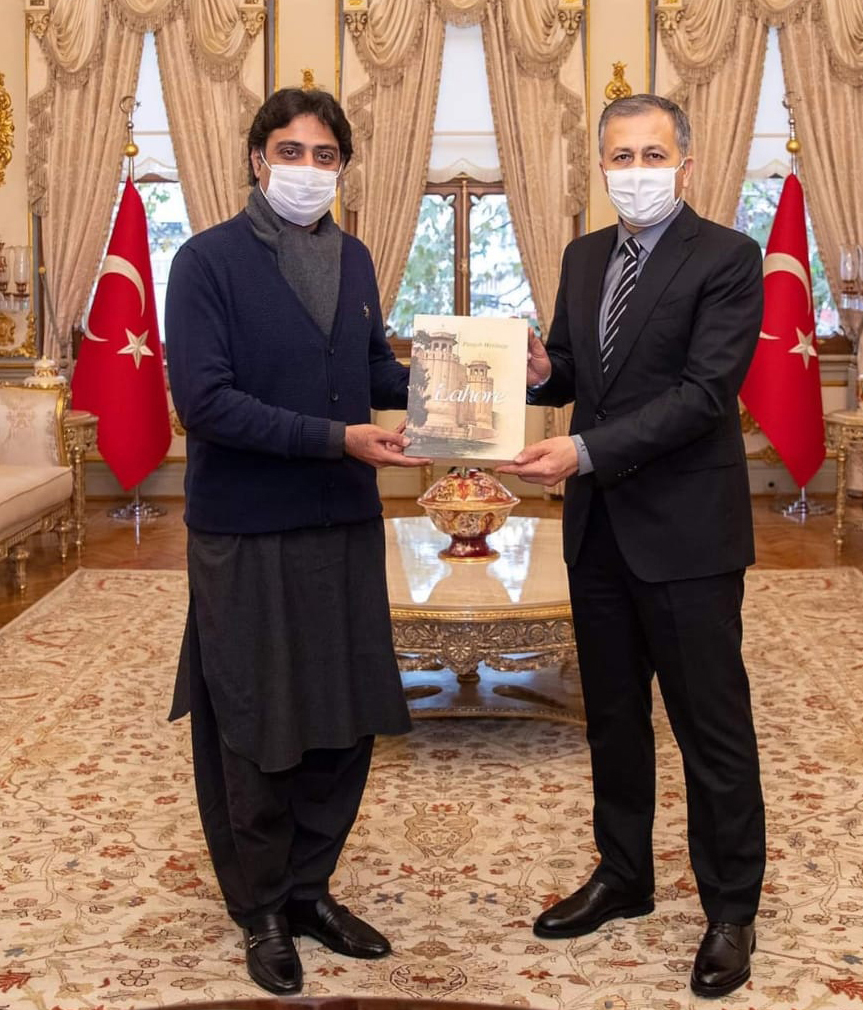Punjab Minister for Sports meets Governor of Istanbul 2
