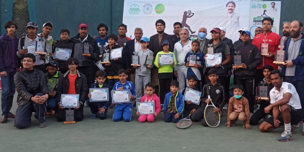 Ahmad, Haniya lift SBP Open Tennis singles titles 1