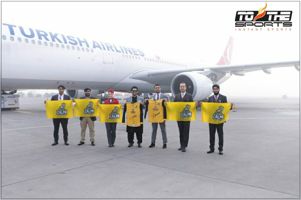 Turkish airline becomes Peshawar Zalmi's official Airline partner for PSL 6 2