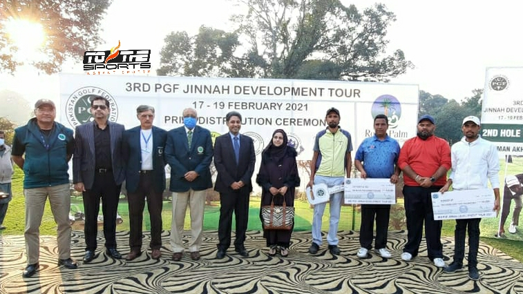 PGF Jinnah Development Golf Tour Match