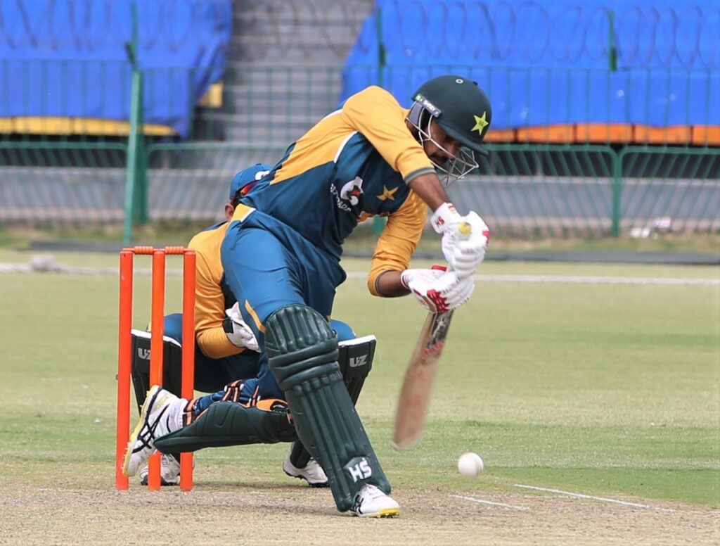 Revised target 320 to win for Shadab XI in 50 overs 5