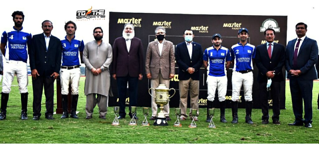 Master Paints Jinnah Gold Cup 2021: Diamond Paints clinch title 1